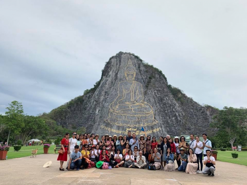 Thailand tour organized by the company