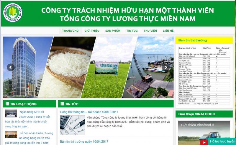 Công ty TNHH Một Thành Viên – Tổng Công Ty Lương thực miền Nam- Vinafood II
