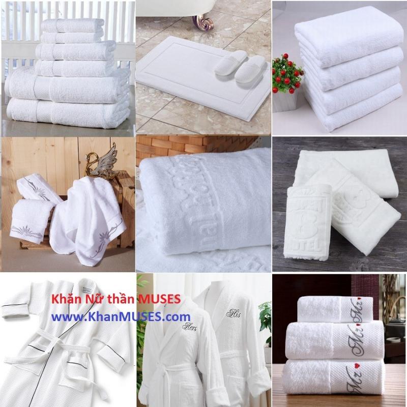 Sản phẩm khăn bông của Công ty TNHH Muses Việt Nam