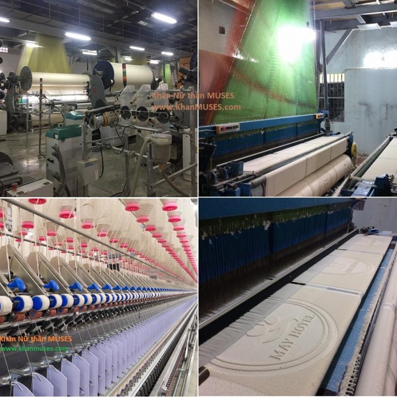Nhà máy dệt khăn của Công ty TNHH Muses Việt Nam
