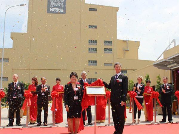 Lễ khánh thành nhà máy cà phê mới của Nestle tại Việt Nam