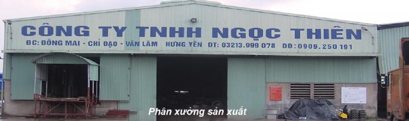 Công ty TNHH Ngọc Thiên thành lập ngày 18 tháng 11 năm 2005