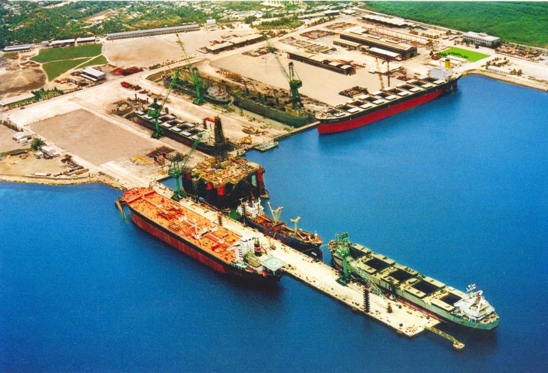 Toàn cảnh Công ty TNHH nhà máy tàu biển Huyndai Vinashin