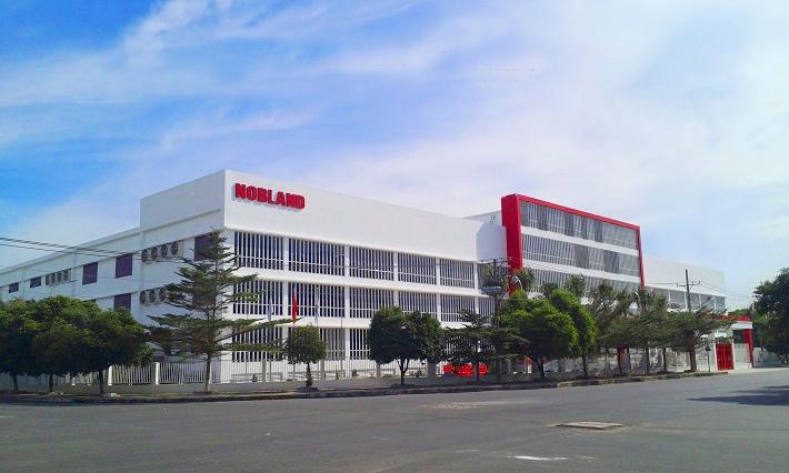 Một trong những nhà máy của Nobland Việt Nam