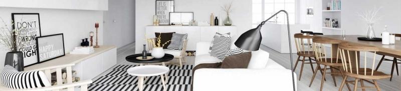 Một mẫu thiết kế nội thất của công ty cho một căn nhà có diện tích không lớn