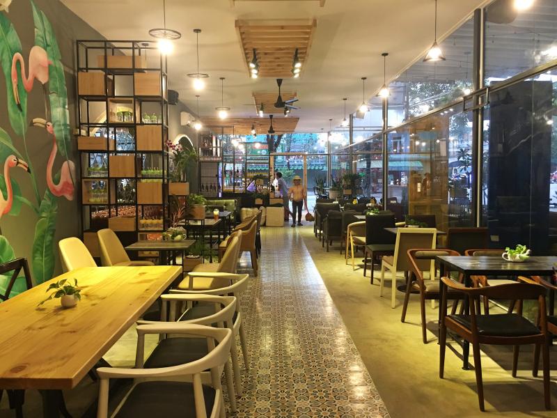 Thiết kế quán trà