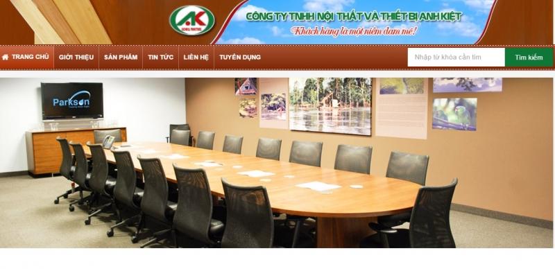 Công ty TNHH nội thất và thiết bị Anh Kiệt