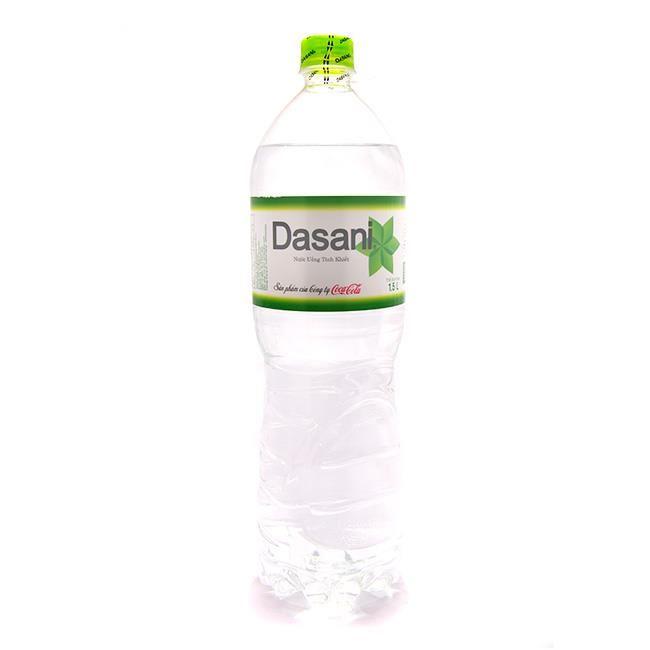 Nước tinh khiết Dasani của Công Ty TNHH Nước Giải Khát BLUESEA