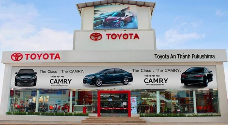 Công ty TNHH ô tô Toyota An Thành Fukushima