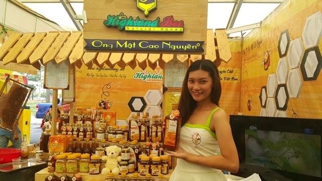 Sản phẩm mật ong nguyên chất