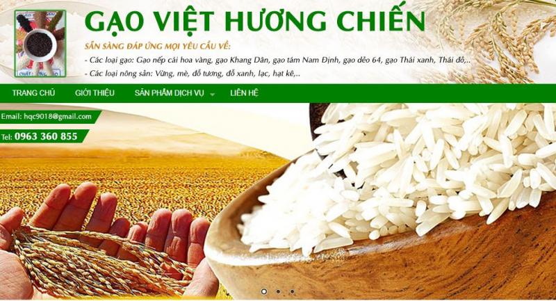 Công Ty TNHH Sản Xuất Thương Mại Gạo Tươi Việt Hương Chiến