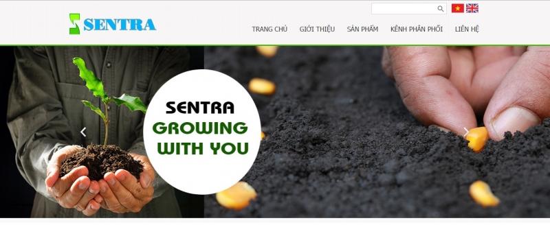 Website của Công Ty TNHH SenTra