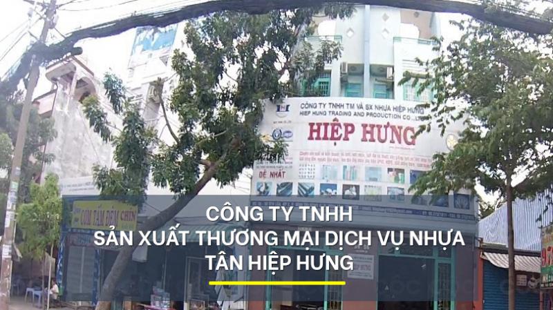 Công ty TNHH SX - TM - DV Nhựa TÂN HIỆP HƯNG.
