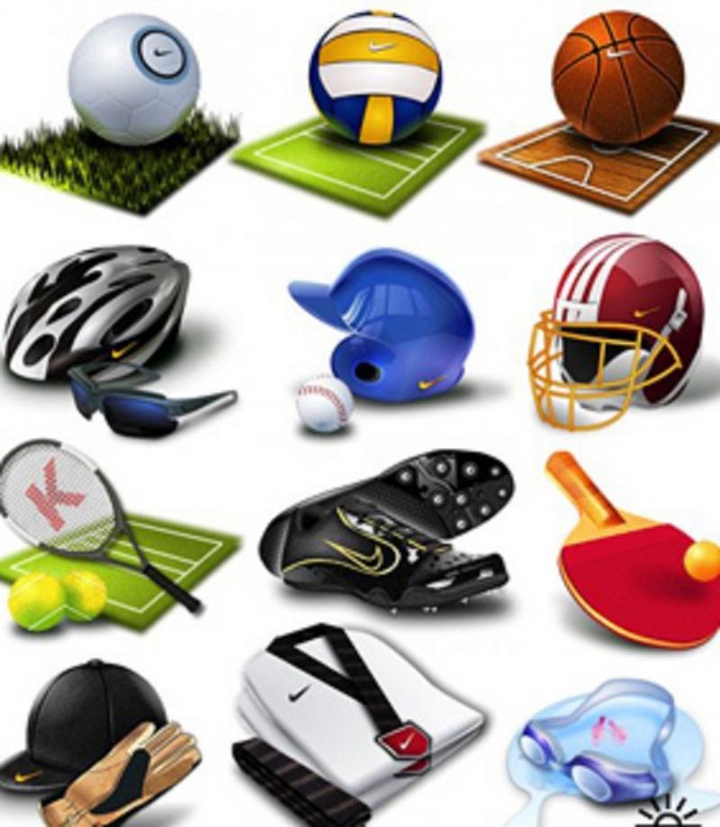 Một số dụng cụ thể thao