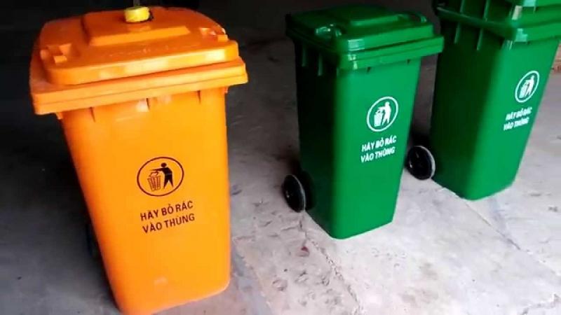 Thùng rác của Công Nghệ Nhựa An Phú