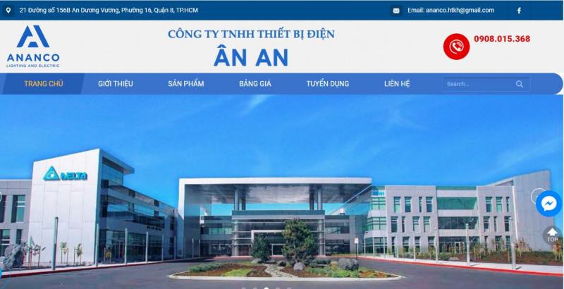 Công ty TNHH thiết bị điện Ân An