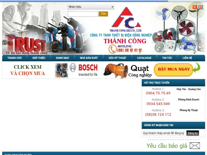 Công ty TNHH thiết bị điện công nghiệp Thành Công