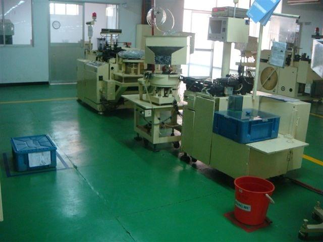 Máy móc tại công Ty TNHH thiết bị điện tử Việt Nam DAEWOO