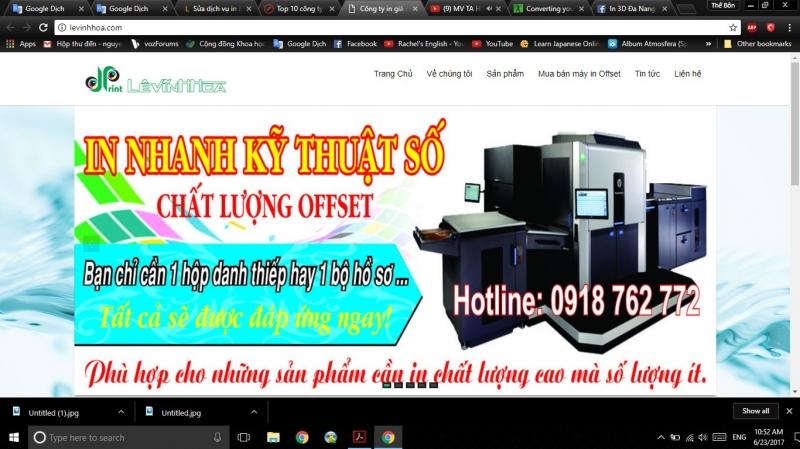 Công ty TNHH Thiết Kế In Ấn Lê Vĩnh Hòa