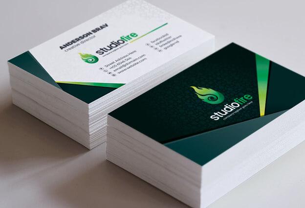 Công nghệ in Offset hiện đại chạy bài in name card bằng máy lớn độ phủ màu đạt 100% khổ in