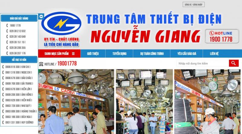 Công ty TNHH thương mại & dịch vụ Nguyễn Hoàng Giang