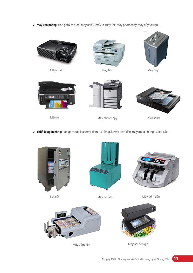 Công ty TNHH thương mại & phát triển công nghệ Quang Minh