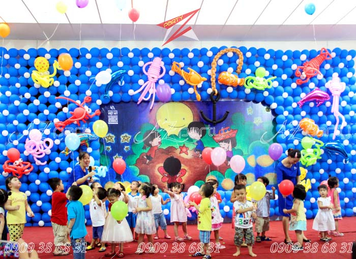 Tổ chức tết Trung Thu cho thiếu nhi tại trường Việt Mỹ