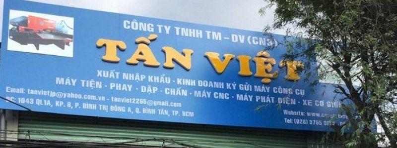 Công Ty TNHH Thương Mại - Dịch Vụ Tấn Việt