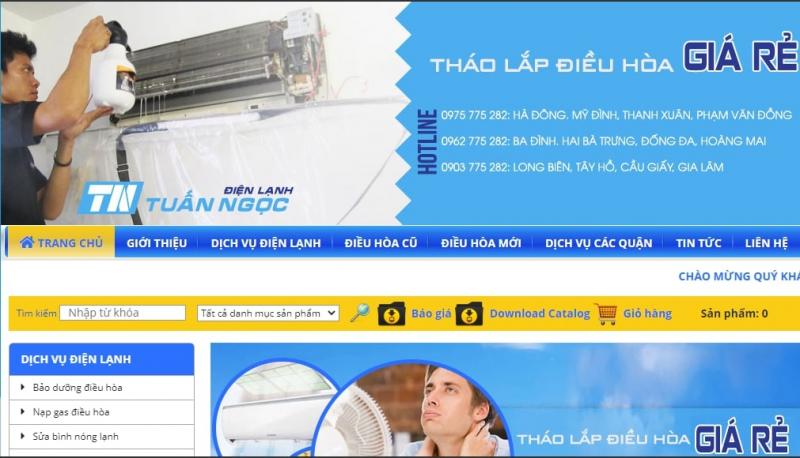Công ty TNHH Thương Mại Điện Lạnh Tuấn Ngọc
