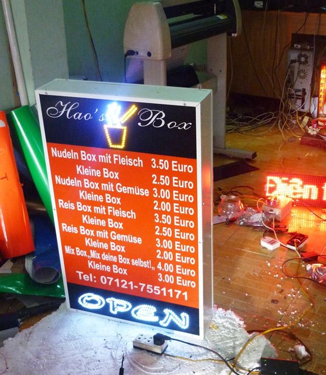 biển quảng cáo hộp đèn giá rẻ