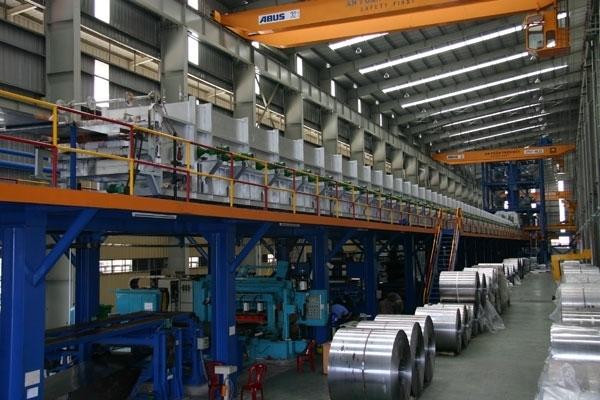 Dây chuyền sản xuất hiện đại của Thép Hoà Phát - Tập đoàn Hoà Phát