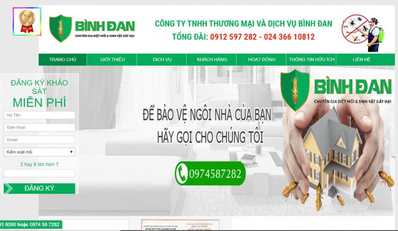 Công ty TNHH thương mại và dịch vụ Bình Đan