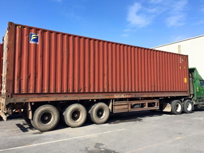 Vận tải Container đường bộ phát triển