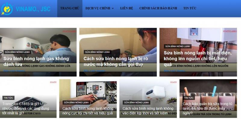 Công ty TNHH Thương Mại và Dịch Vụ VINAMO Toàn Cầu