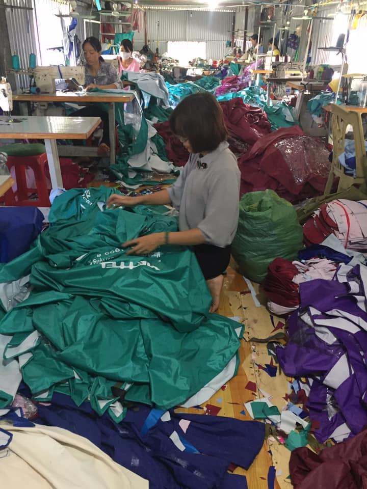 Xưởng áo mưa của công ty HDH Việt Nam