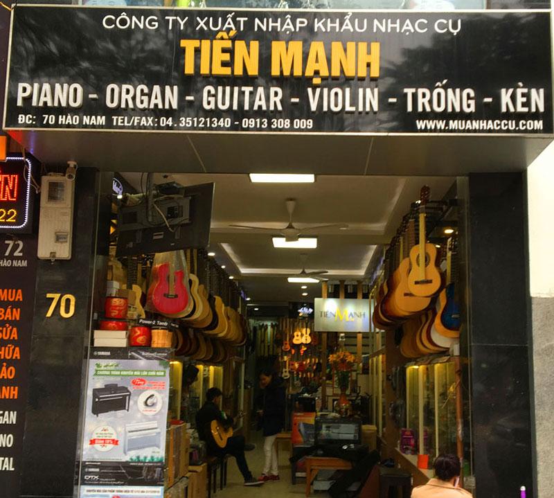 Công ty TNHH thương mại và XNK nhạc cụ Tiến Mạnh