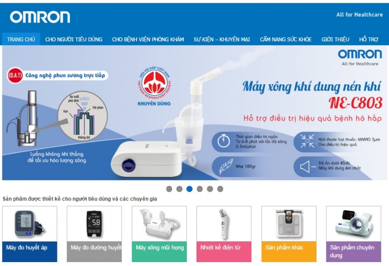 Website của Omron