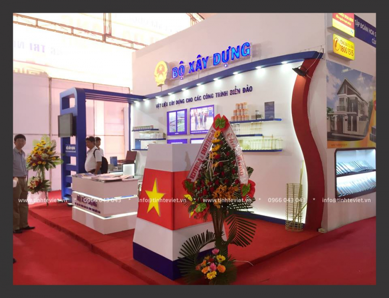 BOOTH BỘ XÂY DỰNG