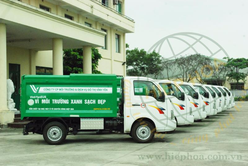 Top 9 công ty cung cấp xe chở rác, xe ép rác uy tín nhất Việt Nam
