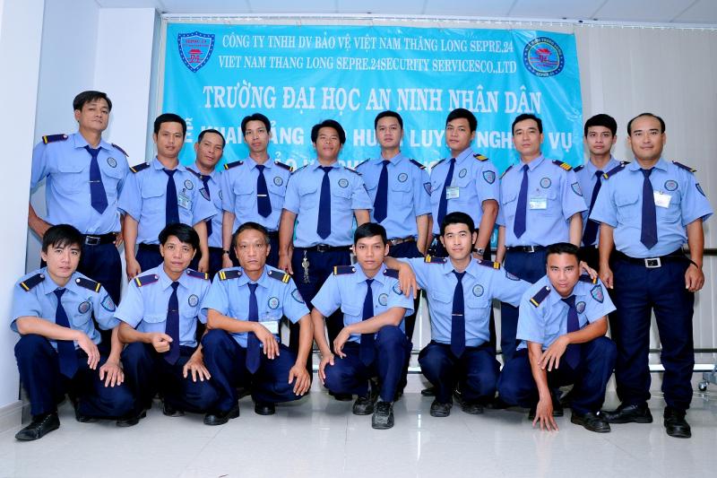 Công ty TNHH bảo vệ Việt Nam Thăng Long Sepre.24