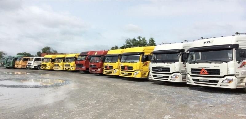 ASEAX sở hữu đội ngũ xe vận tải lớn phục vụ cho nhu cầu của khách hàng.
