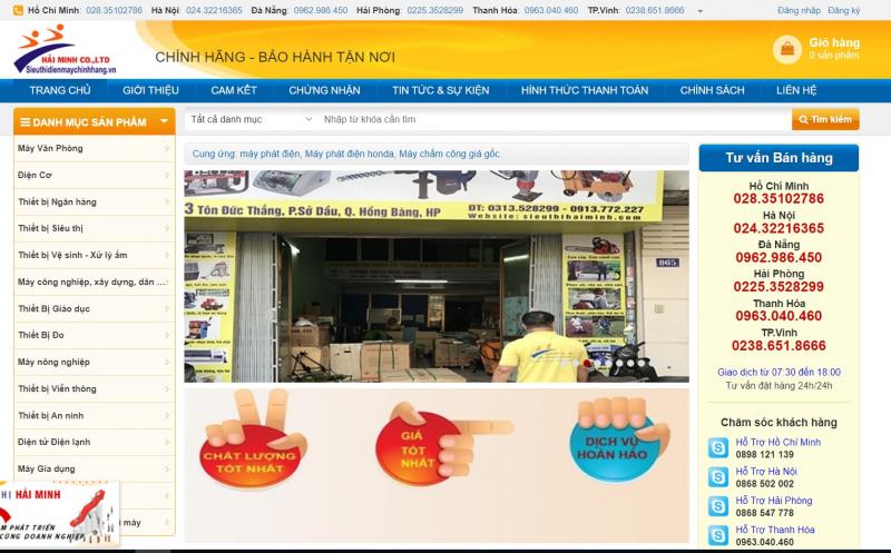 Công ty TNHH TM DV xuất nhập khẩu Hải Minh