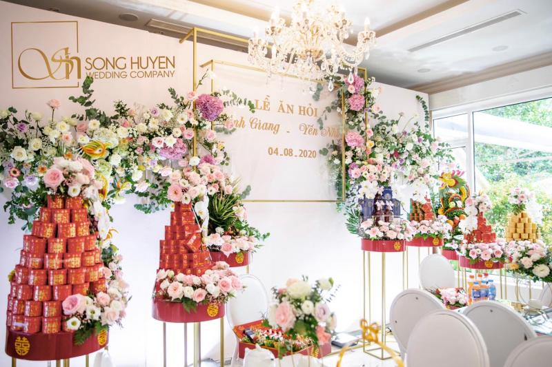 Công ty TNHH tổ chức sự kiện cưới hỏi Song Huyền.