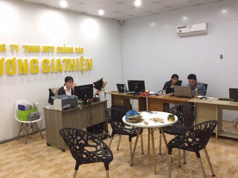 Văn phòng công ty THNN Trương Gia Thiện