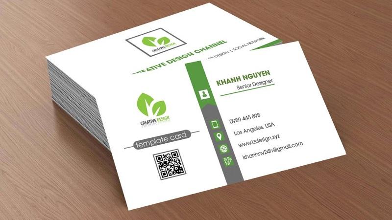Nếu chưa có file in name card thì nhân viên thiết kế của Mekoong luôn sẵn sàng giúp bạn để có được bản in đẹp nhất.