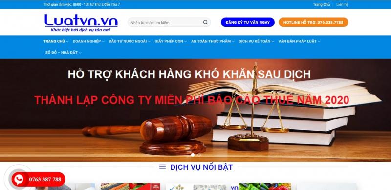 Công ty TNHH Tư vấn Đầu tư Luật VN