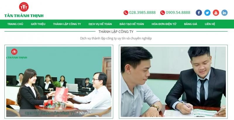 Công ty TNHH Tư vấn doanh nghiệp - Thuế - Kế toán Tân Thành Thịnh