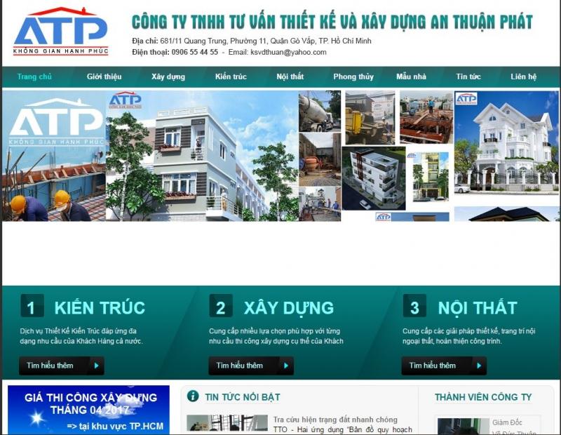 Công Ty TNHH Tư Vấn Thiết Kế Xây Dựng An Thuận Phát