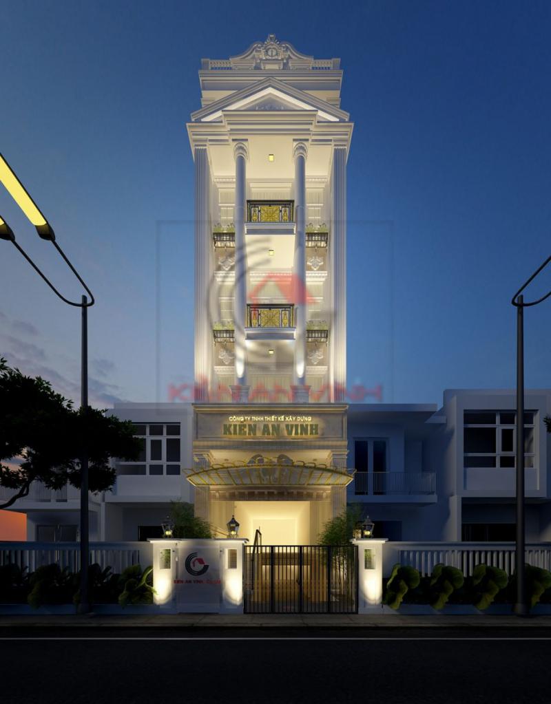 Công ty tnhh tư vấn thiết kế - xây dựng nhà đẹp Kiến An Vinh