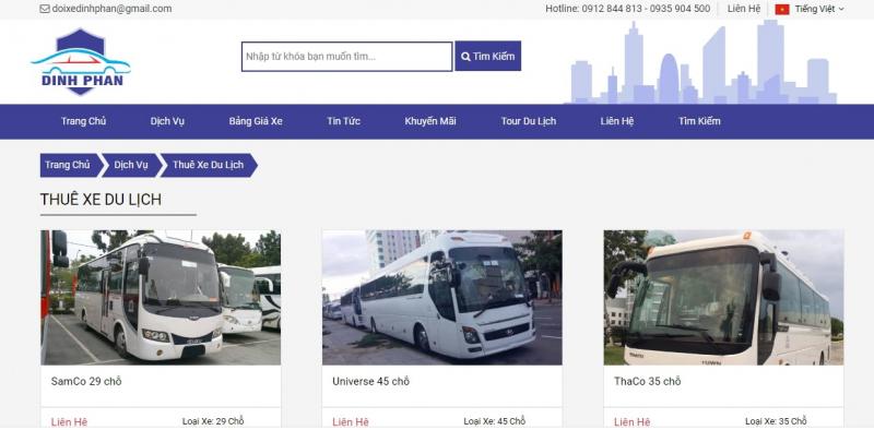 Công ty TNHH Vận tải Du lịch và Thương mại Đinh Phan